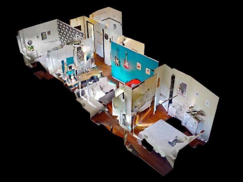 gestion locative charenton-le-pont: 3 pièces 50 m², plan au sol détaillé de l'appartement