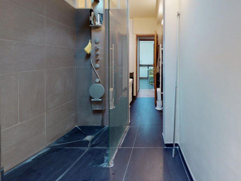 prix vente m2 immobilier: 3 pièces 90 m², salle d'eau moderne avec wc