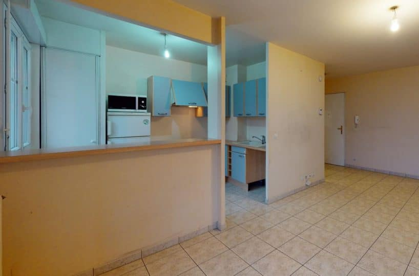 apollonia alfortville: appartement à louer 2 pièces 41 m², grand séjour avec cuisine américaine