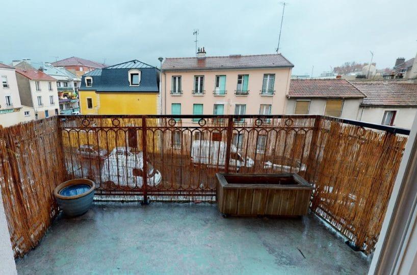 l adresse alfortville: 2 pièces 41 m², séjour lumineux avec accès au balcon