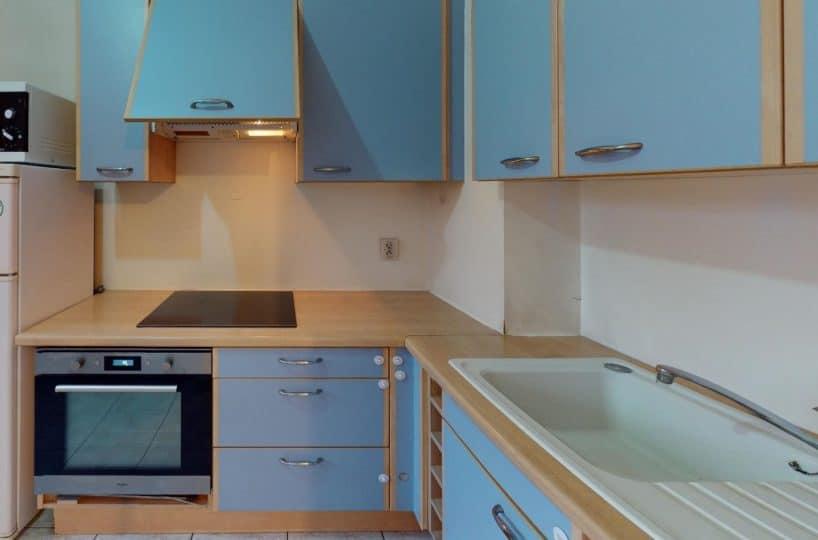 appartement alfortville: 2 pièces 41 m², cuisine semi ouverte aménagée et équipée