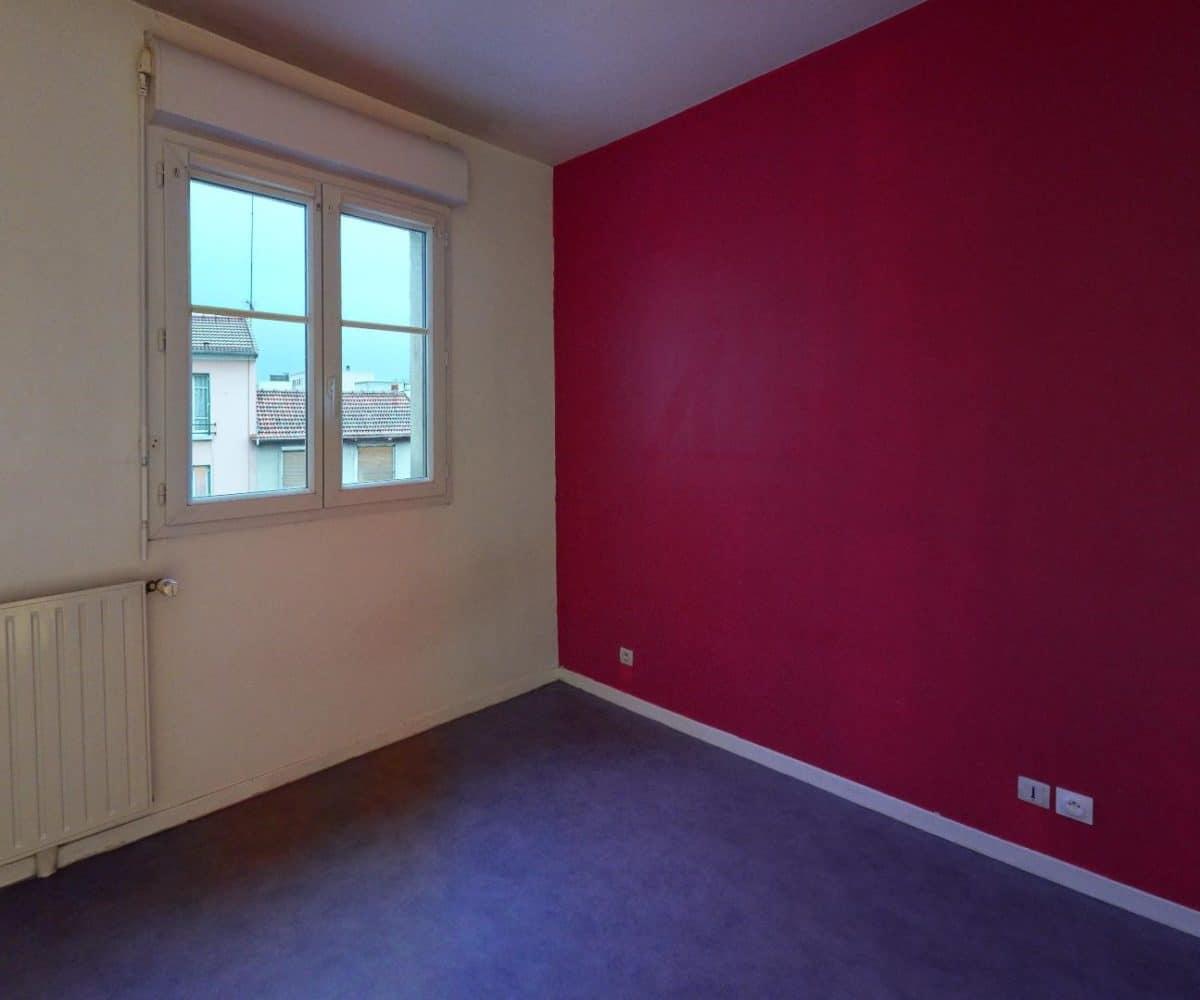 louer appartement alfortville: 2 pièces 41 m², chambre double lumineuse