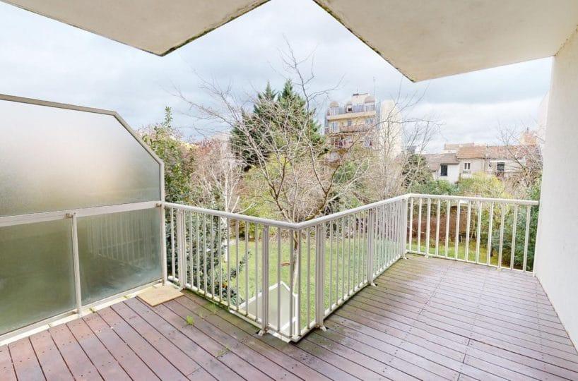 agence immo alfortville: location très beau 4 pièces 78 m², grand balcon, 2 places de parking, rue véron, proche métro ligne 8