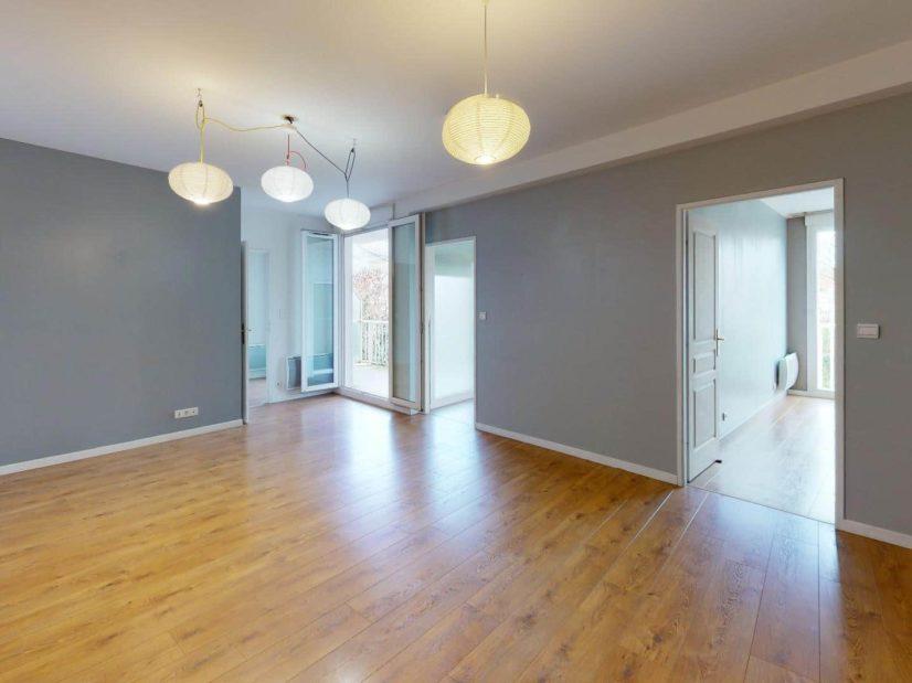 appartement alfortville location: 4 pièces 78 m², beau séjour avec coin repas