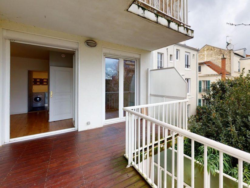 agence alfortville: 4 pièces 78 m², belle terrasse de 12 m², lames bois au sol
