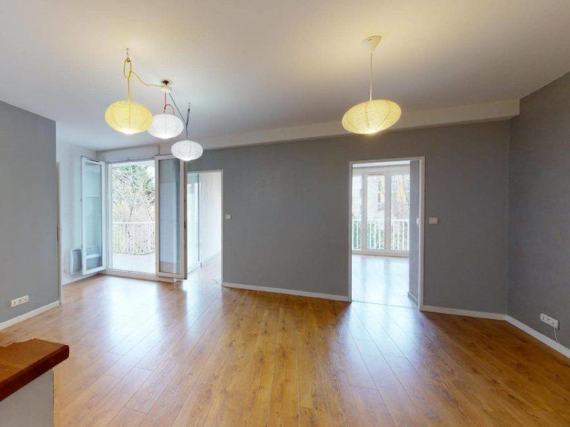 alfortville immobilier: 4 pièces 78 m², séjour lumineux avec accès terrasse de 12 m²