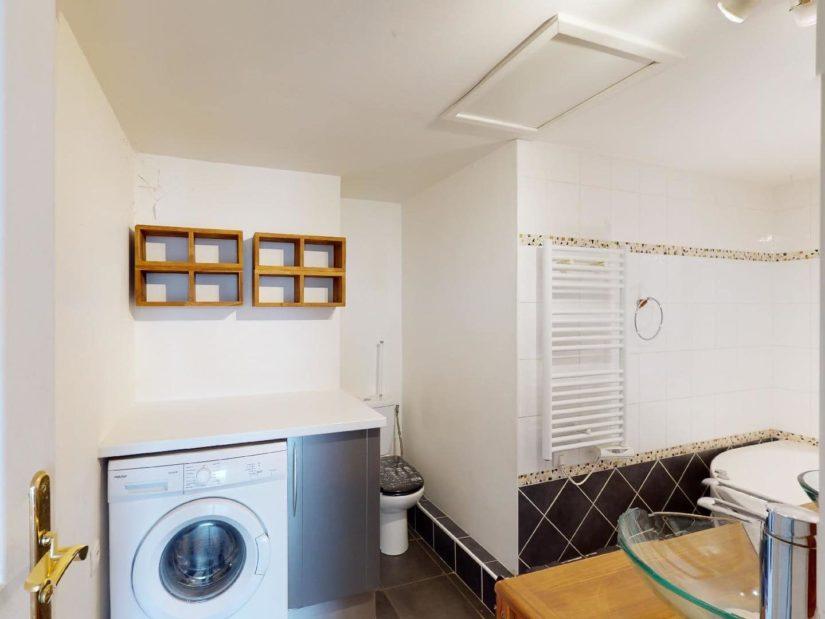 immobilier alfortville: 4 pièces 78 m², cuisine ouverte aménagée, four, hotte, rangements