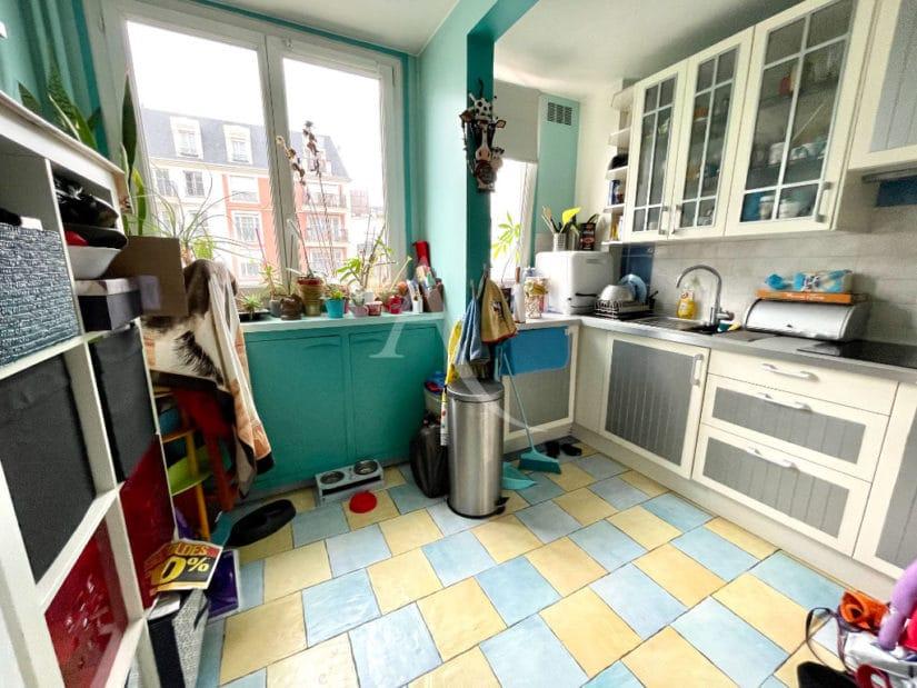 vente appartement maisons alfort: 3 pièces 67 m², cuisine dinatoire indépendante