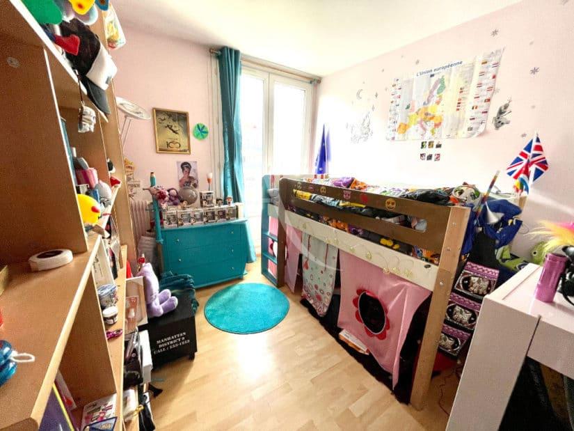 vente appartement maison alfort: 3 pièces 67 m², chambre enfant lumineuse