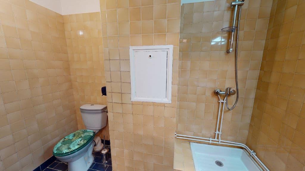 appartement a louer maison alfort: 20 m², salle d'eau avec douche et wc