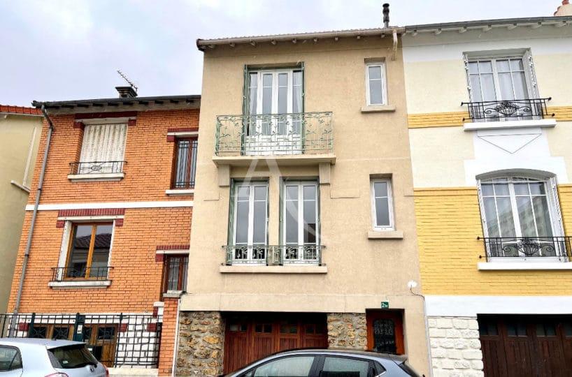 vente maison maisons-alfort: 4 pièces 74 m² avec garage et jardin, secteur charentonneau, proche des bords de marne