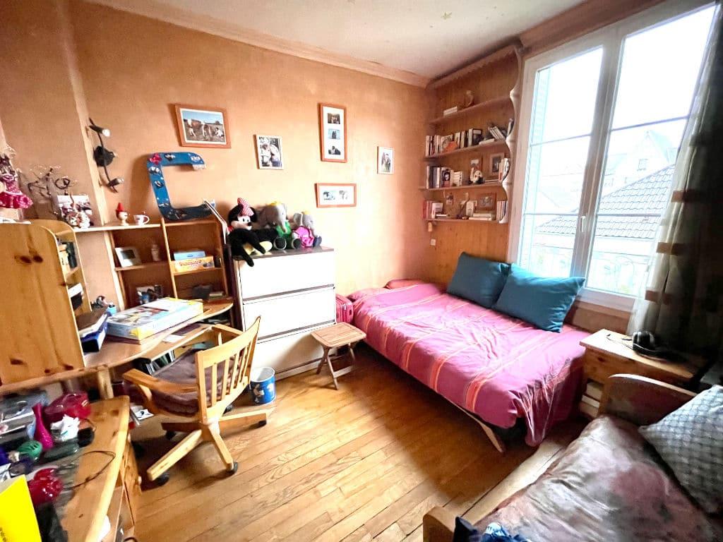agence immo maisons alfort: 4 pièces 74 m², belle 1° chambre enfant, bureau, lit double