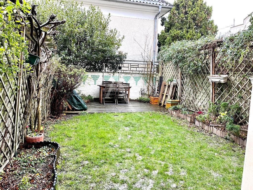 vente maison à maisons-alfort: 4 pièces 74 m², jardin de 83 m² très bien entretenu