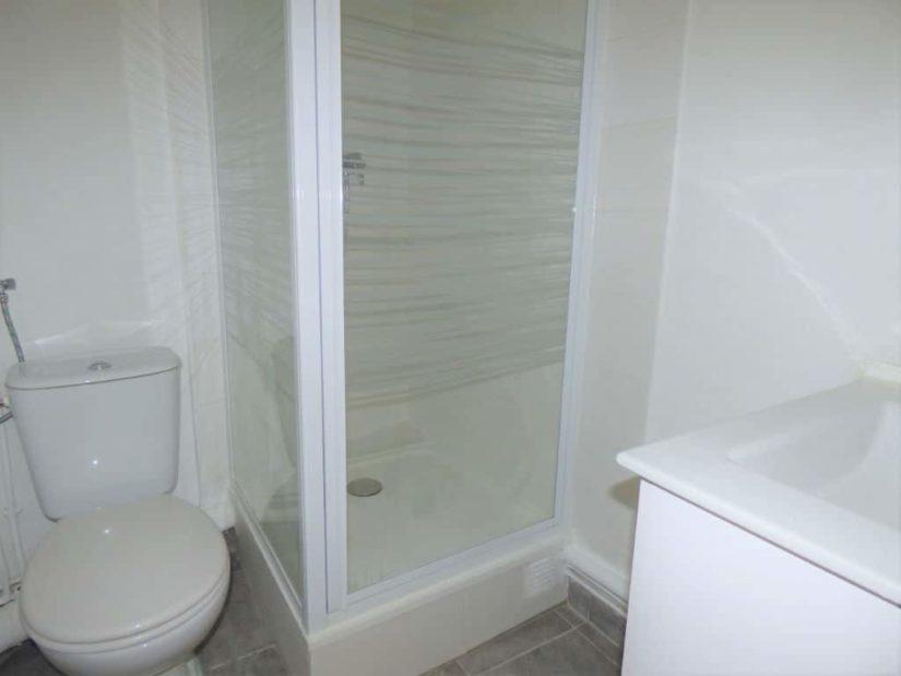 studio à louer maisons-alfort: 21 m², salle d'eau refaite à neuf avec wc