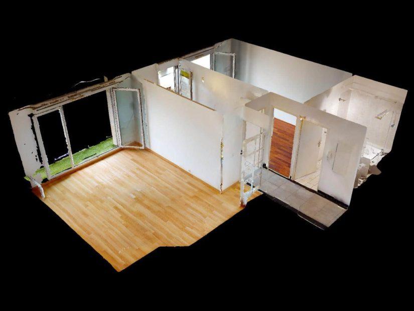 immobilier neuf alfortville: beau 2 pièces 46 m², vue3D