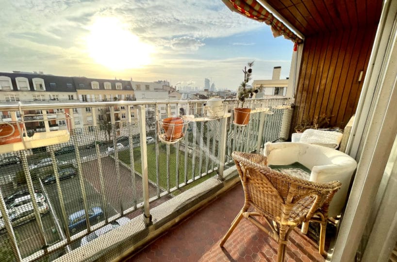 appartement charenton le pont: vente 5 pièces traversants 84 m², balcon, cave et place de parking