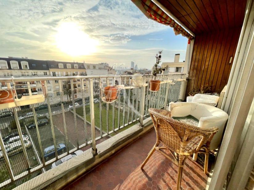 appartement charenton le pont: vente 5 pièces traversants 84 m², balcon, cave et place de parking