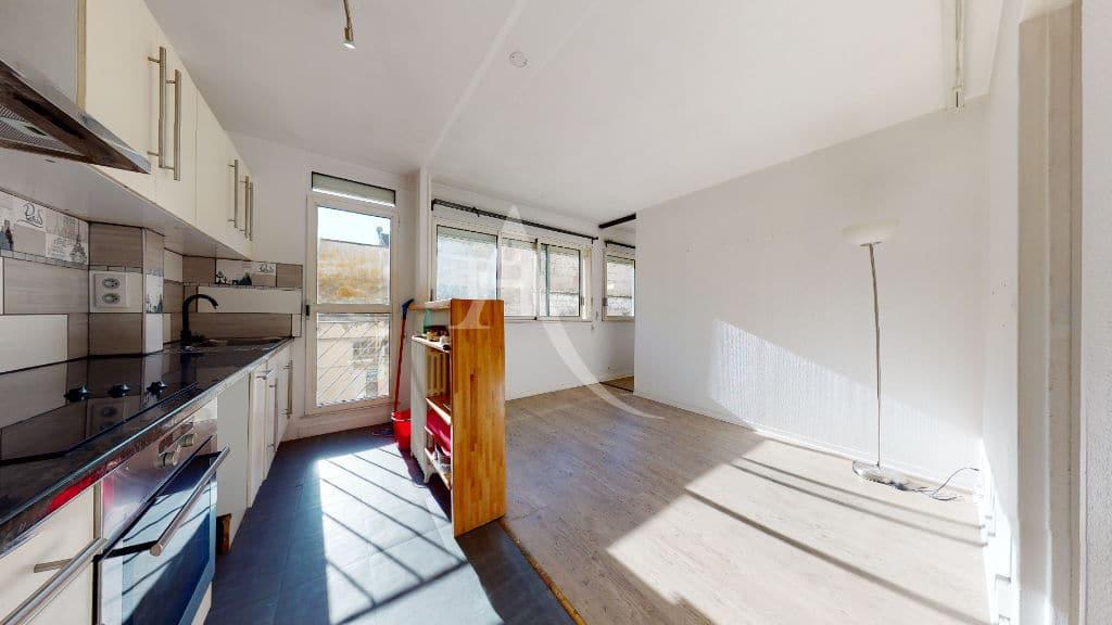 appartement charenton le pont: vente 2 pièces 37 m² donnant sur cour, cuisine ouverte, à 50 m du bois de vincennes