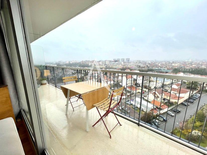 appartement à vendre maisons-alfort: 3 pièces 60 m² avec terrasse et vue exceptionnelle, secteur marc sangnier