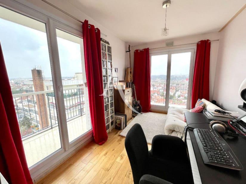 achat appartement maison alfort: 3 pièces 60 m², séjour avec terrasse, vue exceptionnelle