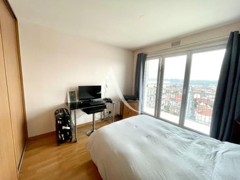 vente appartement maison alfort: 3 pièces 60 m², chambre avec dressing, coin bureau