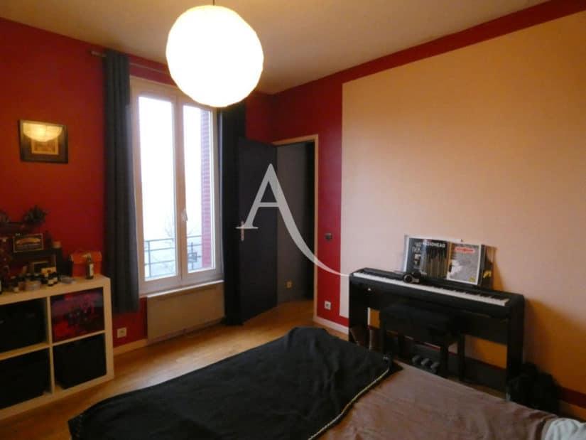 vente appartement 2 pieces alfortville, 32 m², chambre à coucher, parquet au sol