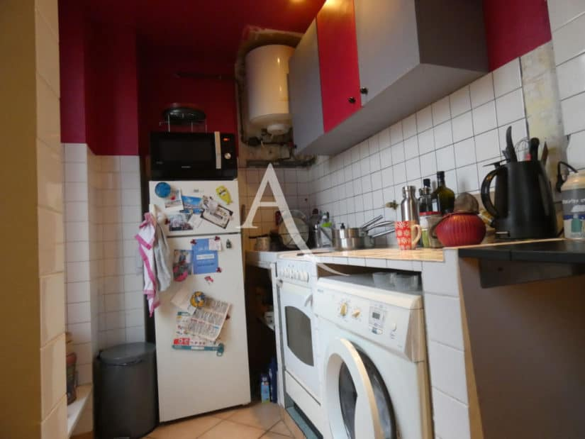 immobilier neuf alfortville: 2 pièces 32 m², cuisine avec branchement pour lave linge