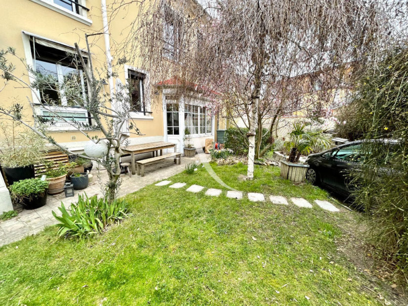 vente maison maisons-alfort: 6 pièces 136 m², jardin de 125 m², atelier, cave, sous-sol, quartier mairie