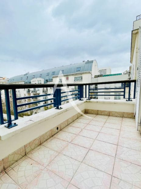 agence immobilière charenton-le-pont: 3 pièces 62 m² traversant avec terrasse, secteur charenton écoles