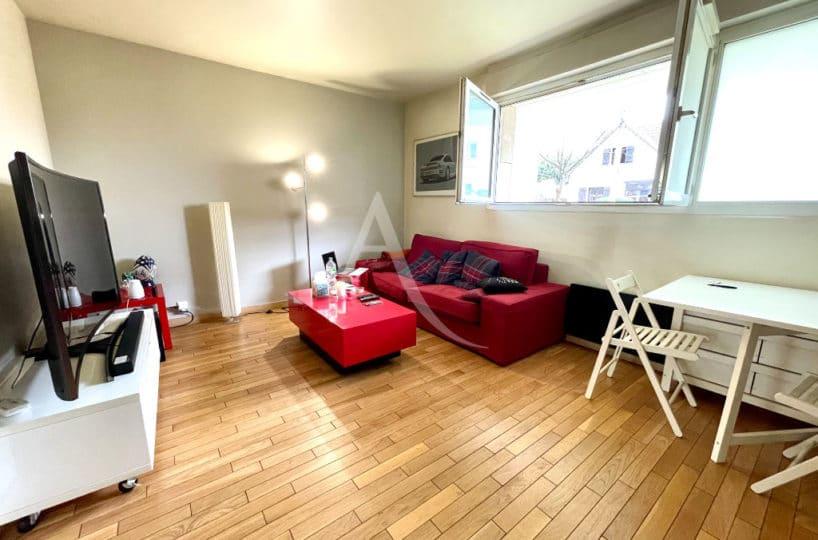appartement à vendre maisons-alfort: 2 pièces 47 m², séjour lumineux plein sud, parking, métro julliottes