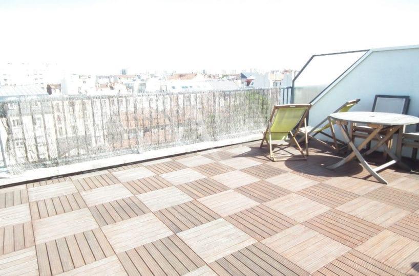 achat appartement alfortville: 2 pièces 38 m² meublé, terrasse de 30 m², dernier étage avec ascenseur