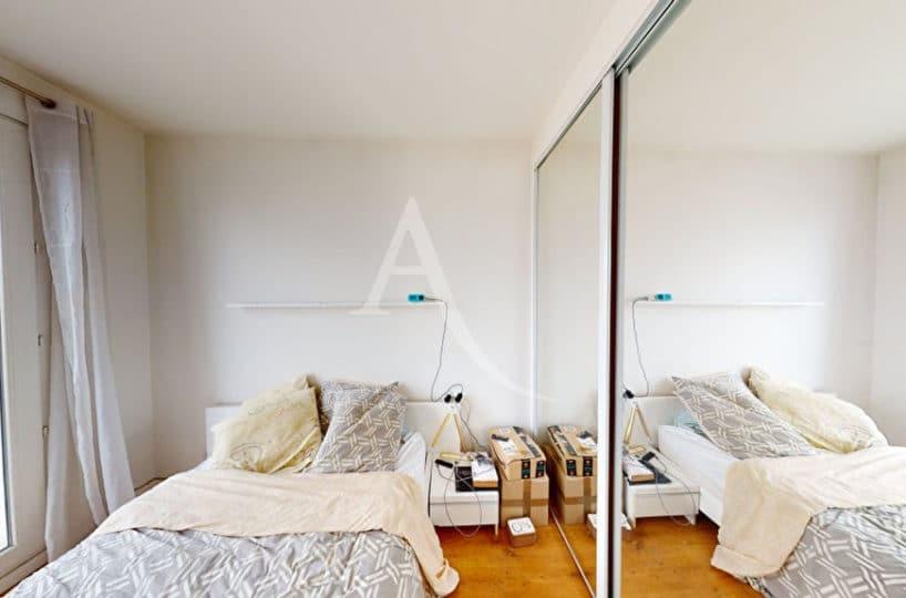 alfortville vente appartement: 2 pièces 38 m², chambre à coucher meublée, lit double