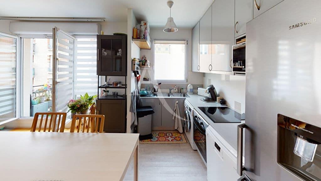 alfortville vente appartement: 4 pièces 92 m², cuisine ouverte et aménagée
