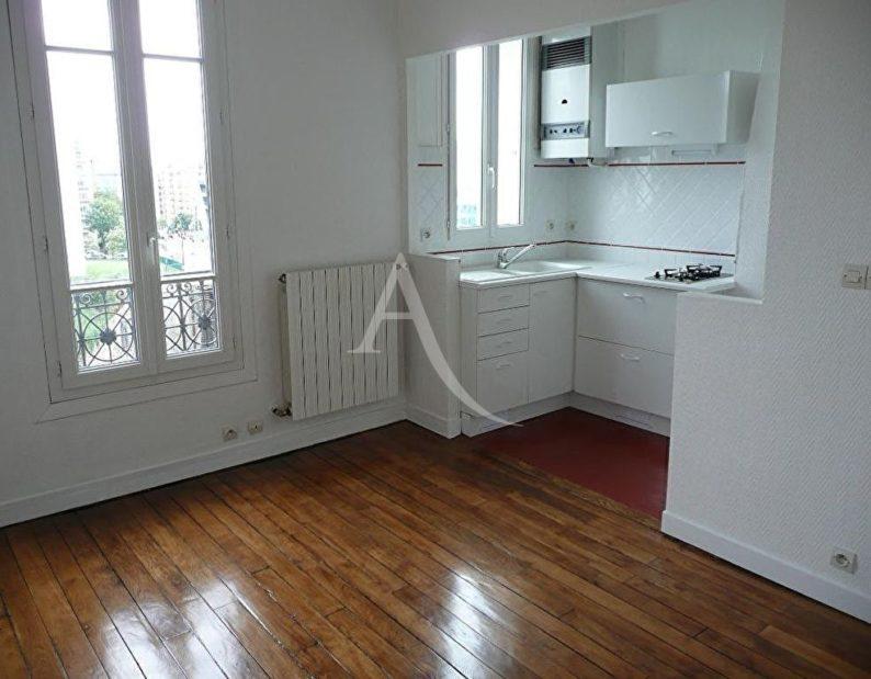 appartement charenton le pont: à louer 2 pièces 27 m², séjour avec cuisine aménagée, proche ligne de métro 8