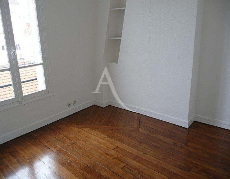 louer appartement charenton-le-pont: 2 pièces 27 m², chambre à coucher, vue sur jardin