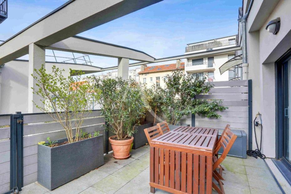 alfortville vente appartement: 3 pièces 71 m², belle terrasse avec accès séjour