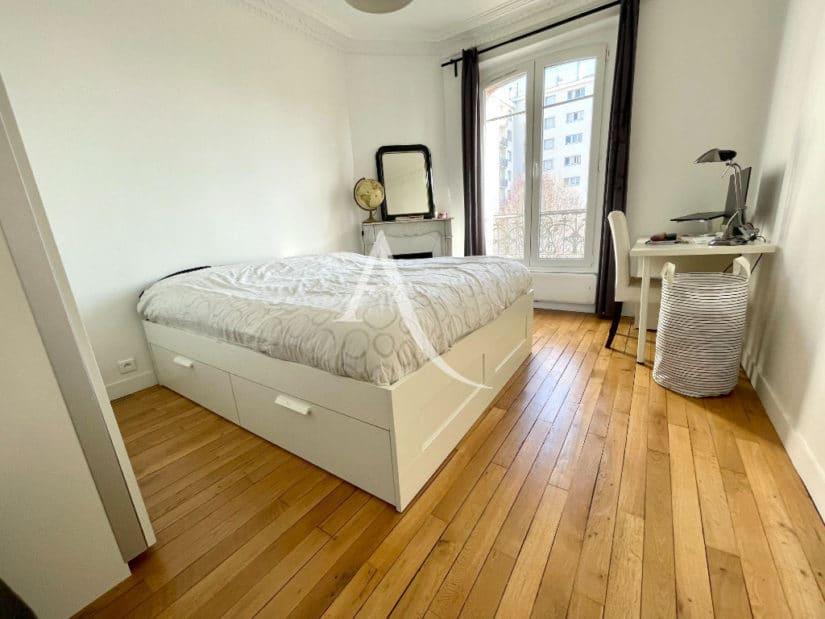 appartement à vendre à alfortville: 3 pièces 55 m², 1° chambre à coucher, lit double