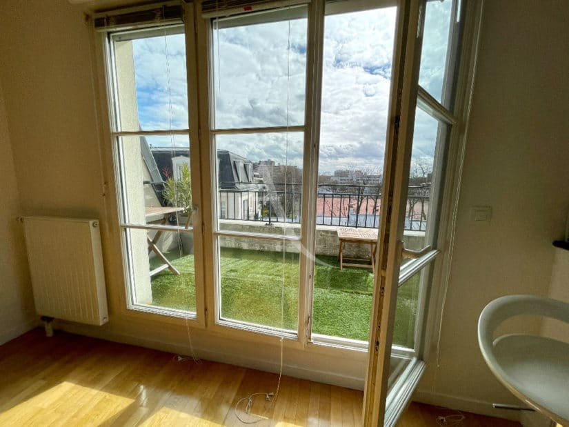 maison alfort appartement a vendre: 3 pièces 68 m², séjour avec accès terrasse