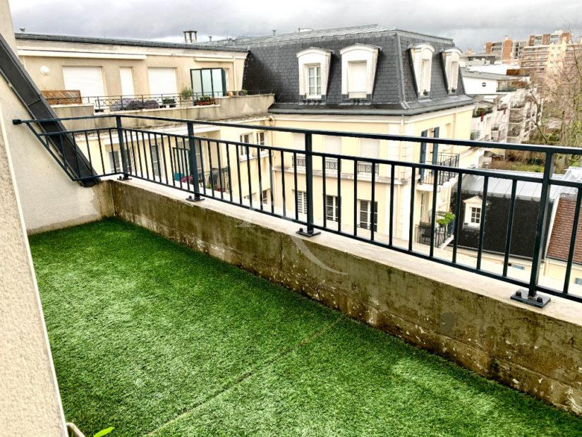 vente appartement 94700: 3 pièces 68 m², terrasse 7 m², exposition sud, au calme