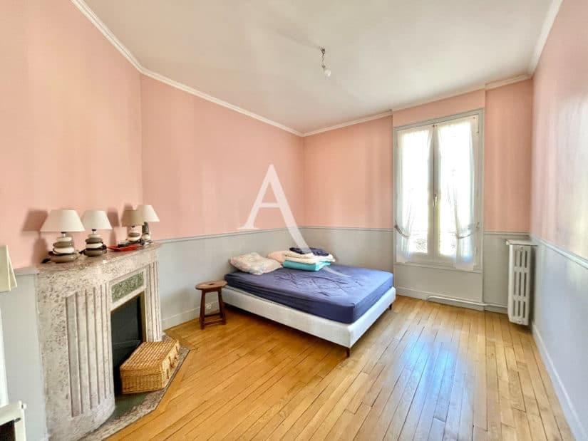 vente maison à maisons-alfort: 6 pièces 120 m², 2° chambre à coucher avec cheminée