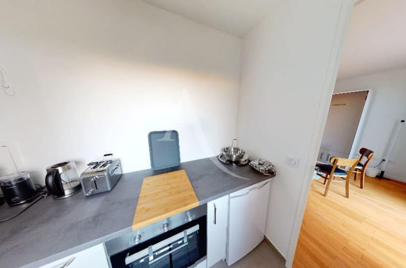 achat appartement alfortville: 27 m², cuisine indépendante aménagée et équipée