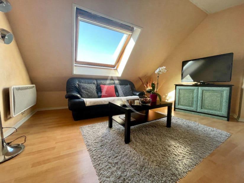 appartement à vendre à charenton-le-pont: 3 pièces 76 m², salon lumineux avec vélux