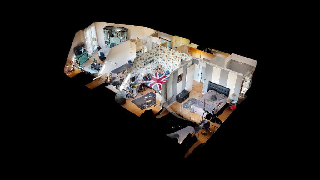 vente appartement charenton le pont 94220: 3 pièces 76 m², plan au sol