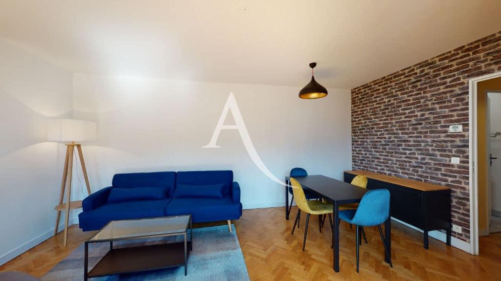 louer appartement alfortville: 2 pièces 50 m², séjour meublé et coin repas