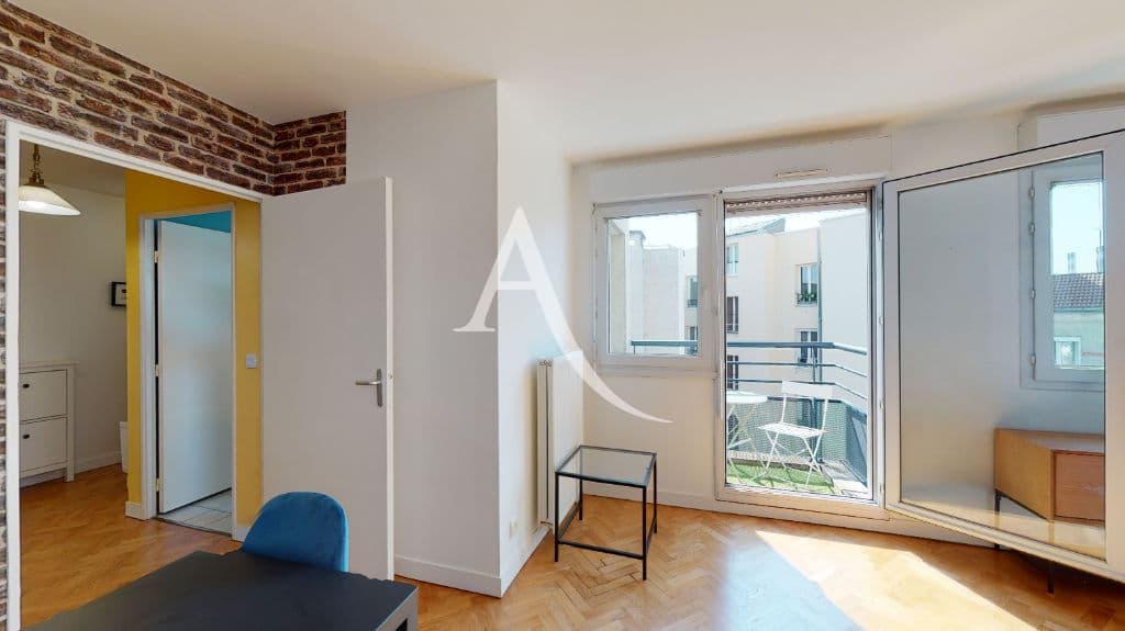 louer appartement à alfortville: 2 pièces 50 m², séjour avec balcon, exposition sud