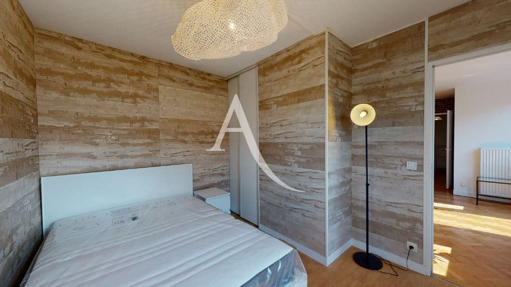 immobilier neuf alfortville: 2 pièces 50 m², jolie chambre à coucher, lit double