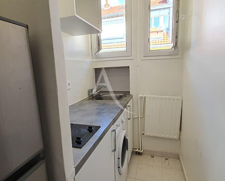 vente appartement alfortville: studio 21 m², cuisine indépendante aménagée