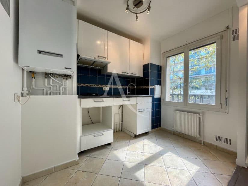 appartement à vendre charenton: 2 pièces 43 m², cuisine américaine aménagée