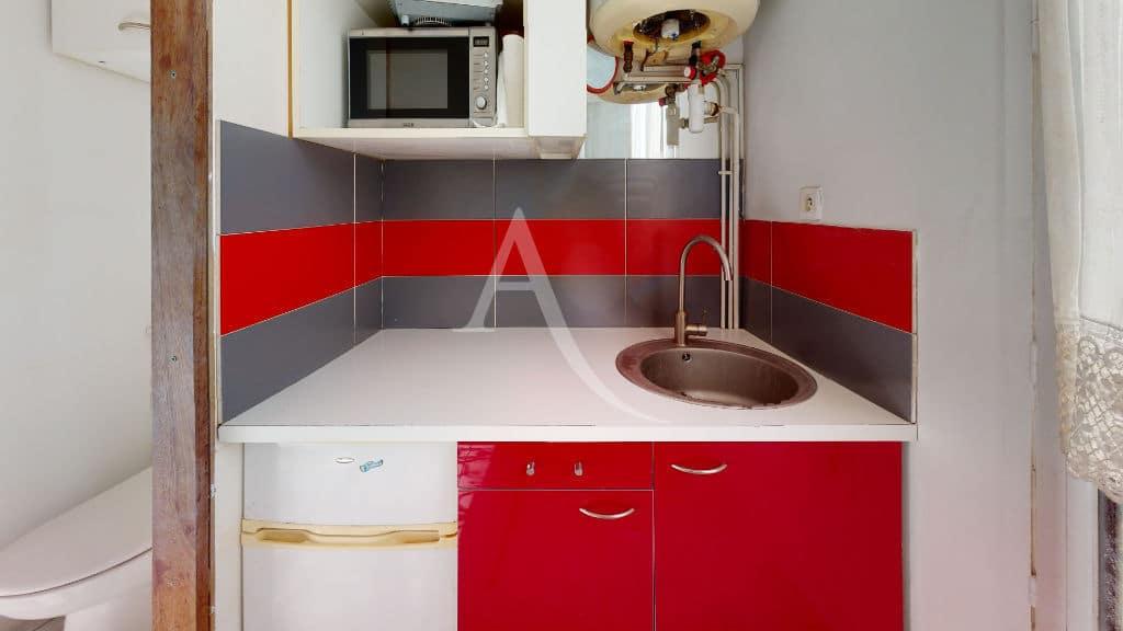 vente studio à alfortville: meublé tout confort, 9 m², lumineux avec coin cuisine