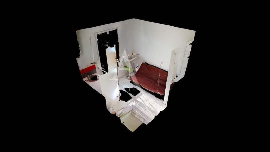 appartement à vendre à alfortville: studio 9 m² excerllent état et lumineux au 1er étage